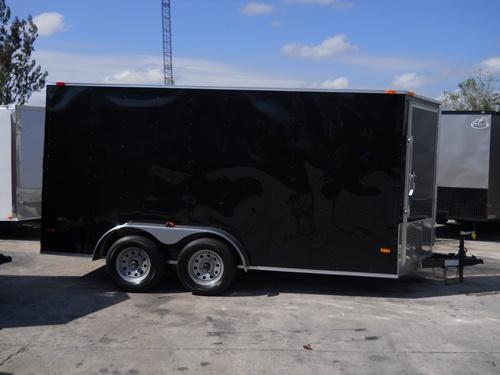 *E8D* 7x14 Door on Nose | 5 Yr Warranty Enclosed Cargo Trailer 7 x 14 | EV7-14T3-R