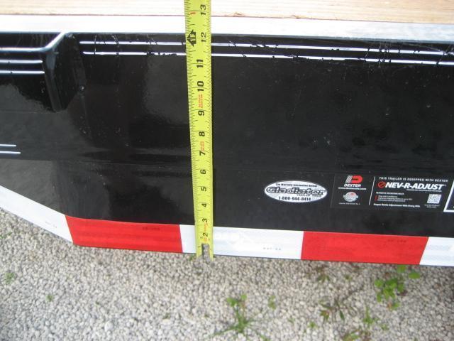 *EQ11* 7x16 7 TON Equipment & Car Hauler Trailer | LR Trailers 7 x 16 | EQ83-16T7-KR