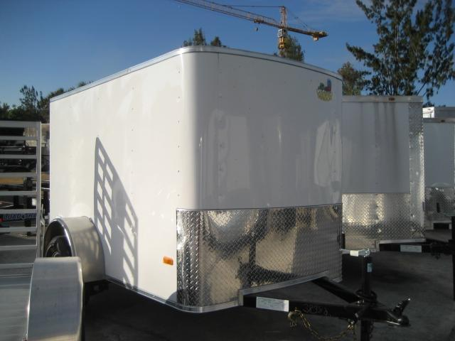 *E1D* 5x8 Enclosed Cargo Trailer Rear Door | Rounded Front 5 x 8 | EF5-8S3-R