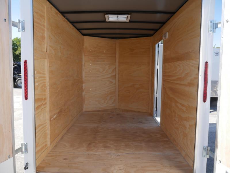 *E3D* 6x10 Enclosed Trailer   Cargo Trailers W/Ramp #105805   6 x 10   EV6-10S3-R