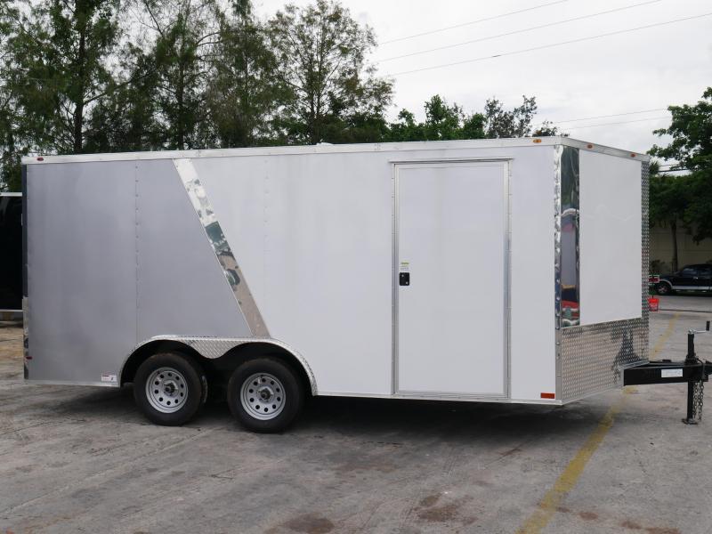 E10 8 5x16 Enclosed Cargo Trailer Car Hauler 8 5 X 16