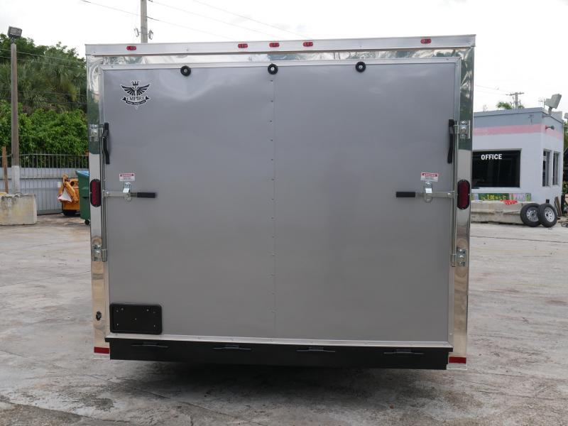 *E10* 8.5x16 Enclosed Cargo Trailer Car Hauler 8.5 x 16   EV8.5-16T3-R