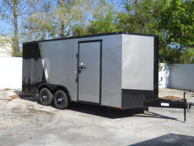 *E10D* 8.5x16 Enclosed Cargo Trailer Box Hauler 8.5 x 16 | EV8.5-16T3-R