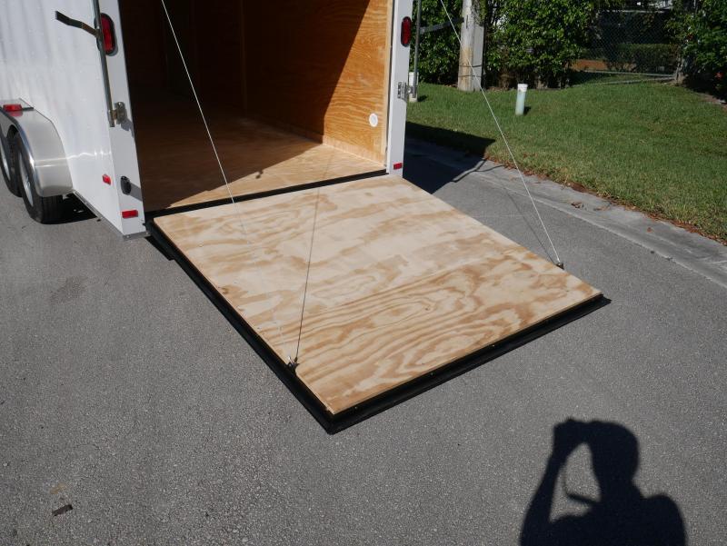 *E9G* 7x16 Enclosed Trailer Cargo Storage Trailers|105731| 7 x 16 | EV7-16T3-R
