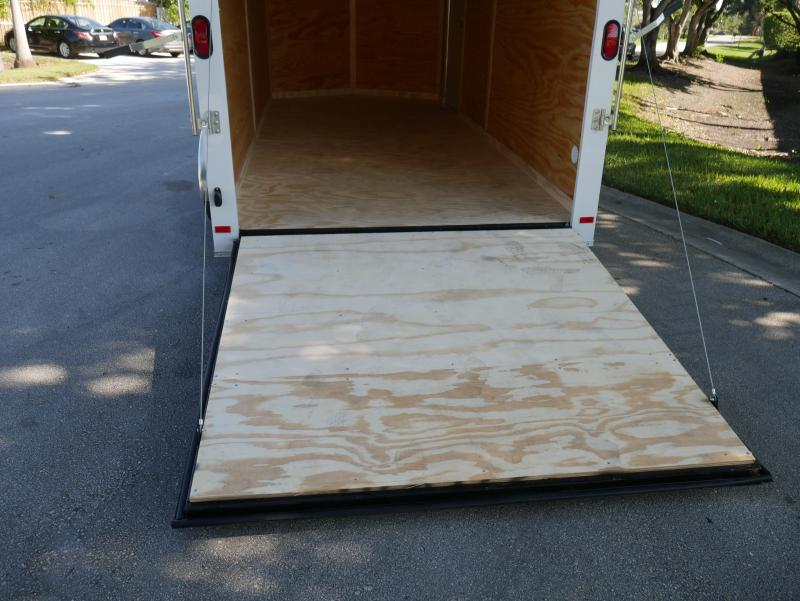 *E9D* 7x16 Enclosed Trailer Cargo 7K Box Trailers|105729| 7 x 16 | EV7-16T3-R