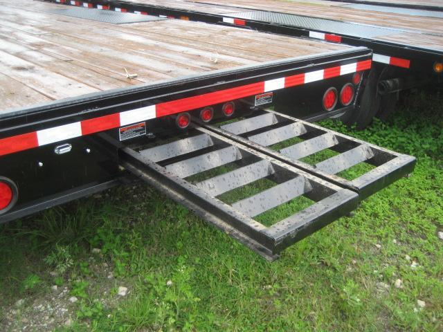 *FG40* 8.5X24 7 TON Flatbed Deck Over Trailer  Butt End Trailers 8.5 x 24   FG102-24T7-BE