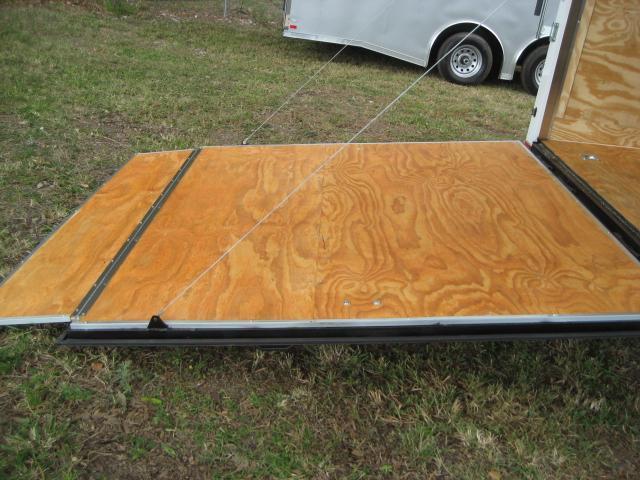 E13 8 5x28 Enclosed Cargo Trailer Car Hauler Trailers 8
