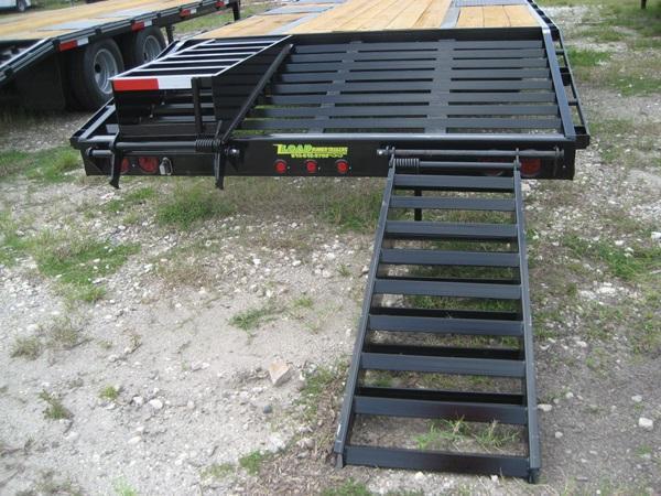 *FG10* 8.5x25 Flatbed Gooseneck Deck Over Trailer 10 TON|20K Trailers 8.5 x 25 | FG102-25T10-FF