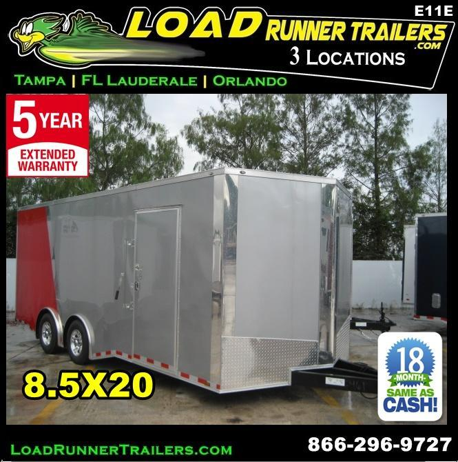 *E11E* 8.5x20 Enclosed Cargo Trailer Car Hauler 8.5 x 20 | EV8.5-20T3-R in Ashburn, VA