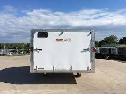 2018 Snopro Hybrid 101x12 Snowmobile Trailer