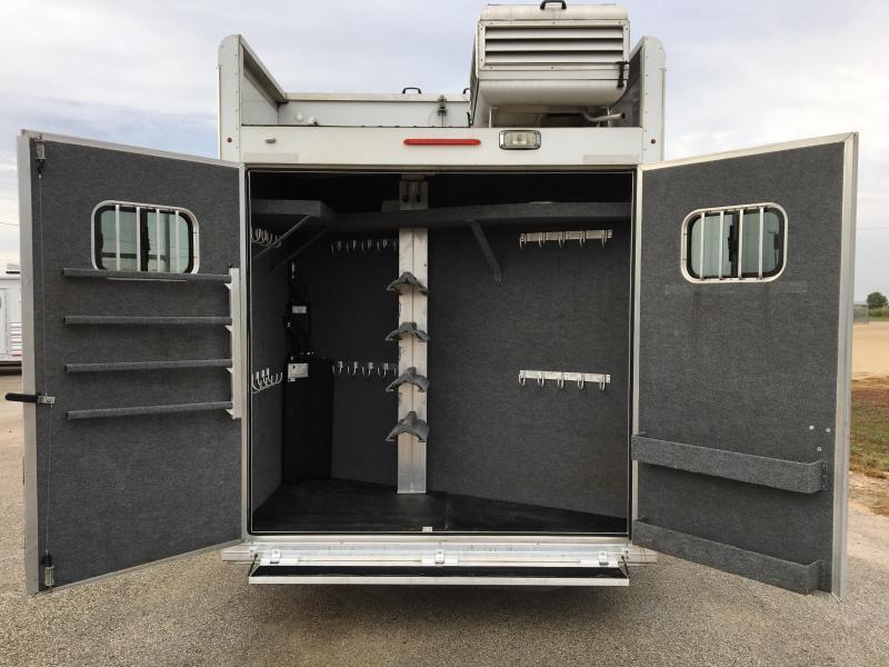 2015 Bloomer Trailer Manufacturing 4 Horse 16 LQ Horse Trailer