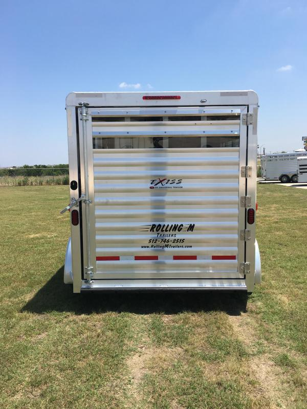 2019 Exiss Trailers 2 Horse Bumper Pull Horse Trailer