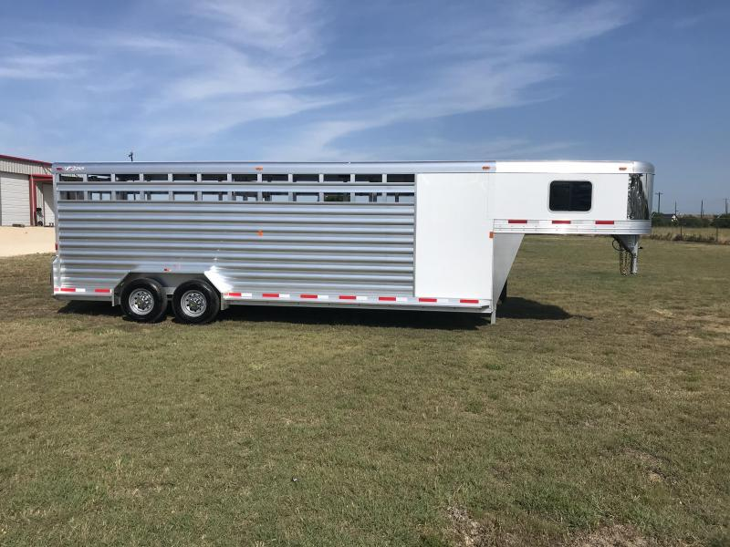 2019 Exiss 24 Stock Combo Livestock Trailer