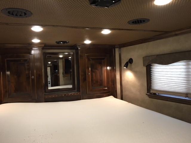 2018 Platinum Coach 4 Horse 13' LQ Reverse Load Horse Trailer