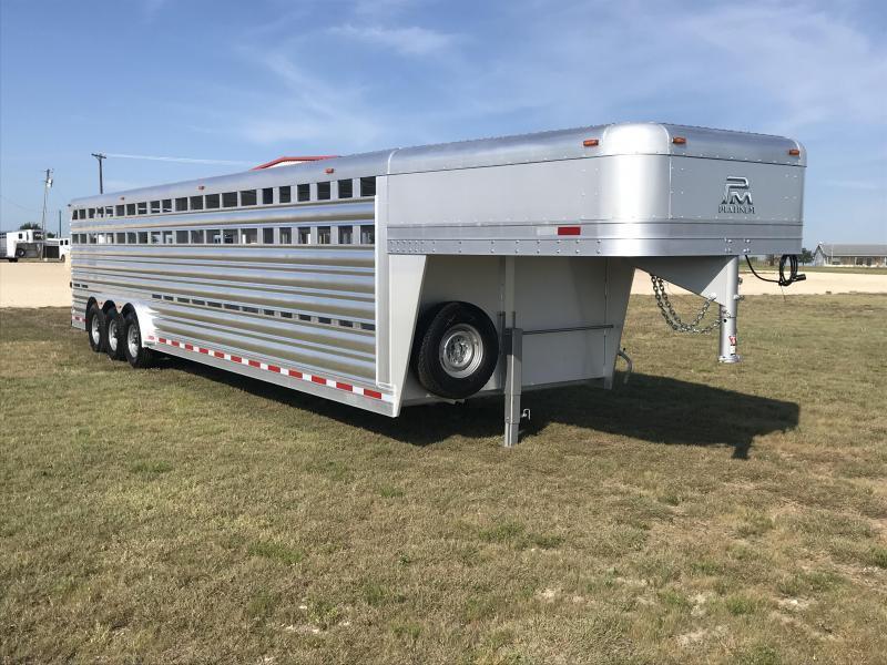2019 Platinum Coach 32 Stock Livestock Trailer