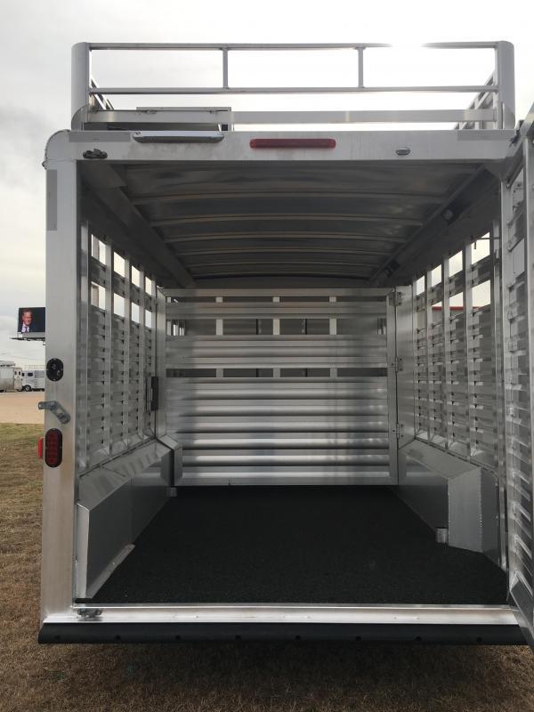 2019 Exiss Trailers STC 8032 LQ Livestock Trailer
