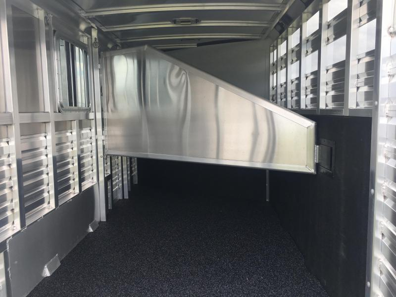 2020 Exiss Trailers Express 3 Horse Bumper Pull CXF Horse Trailer