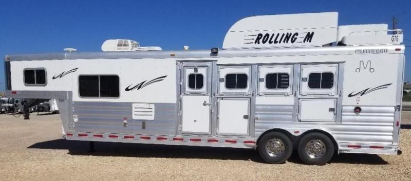 2015 Platinum Coach 2015 4H 10 6 SW Horse Trailer