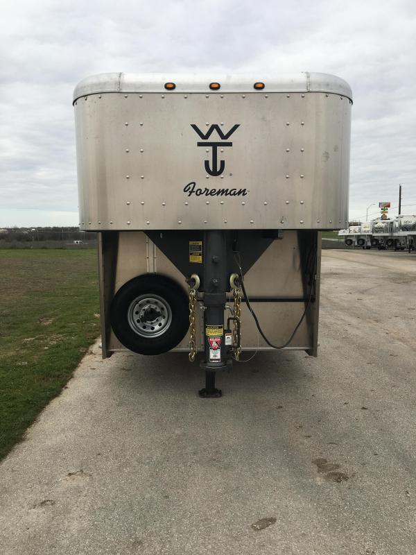 2017 Wilson Trailer Company 30 Foreman Livestock Trailer