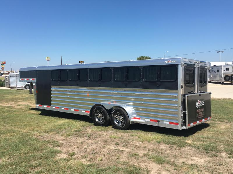 2019 Exiss Trailers Exhibitor 7024W Livestock Trailer