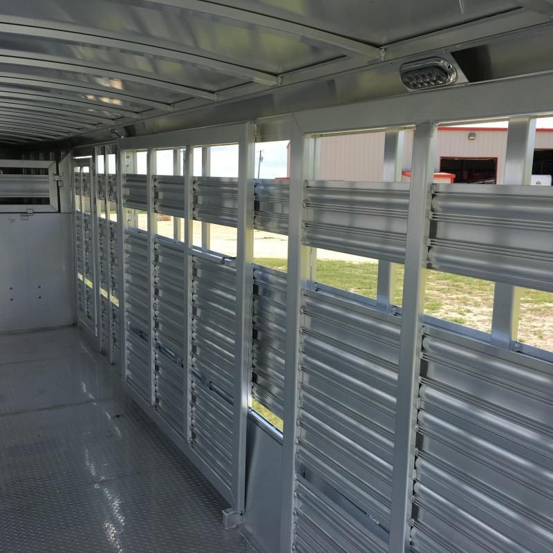 mzrvqc horse trailer stock livestock ft platinum trailers coach