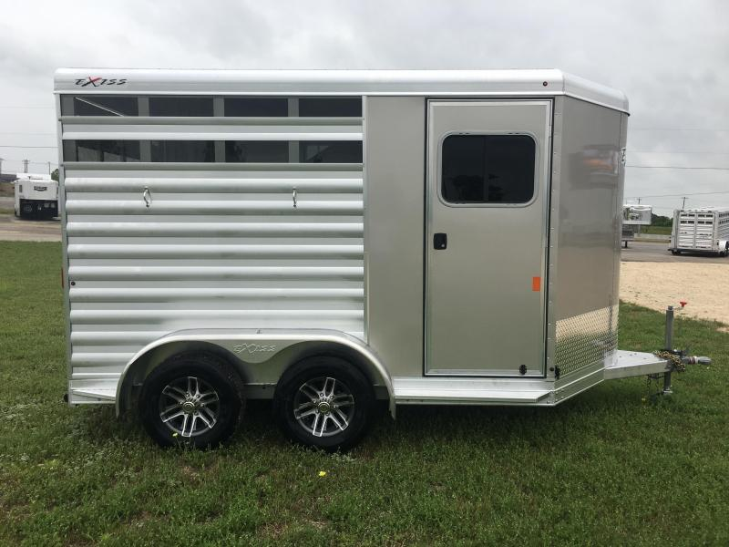 2019 Exiss Trailers Express 2 Horse Bumper Pull CXF Horse Trailer