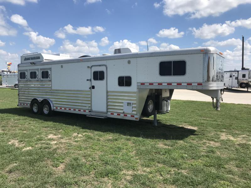 2012 Elite Trailers 3H 12 SW Horse Trailer