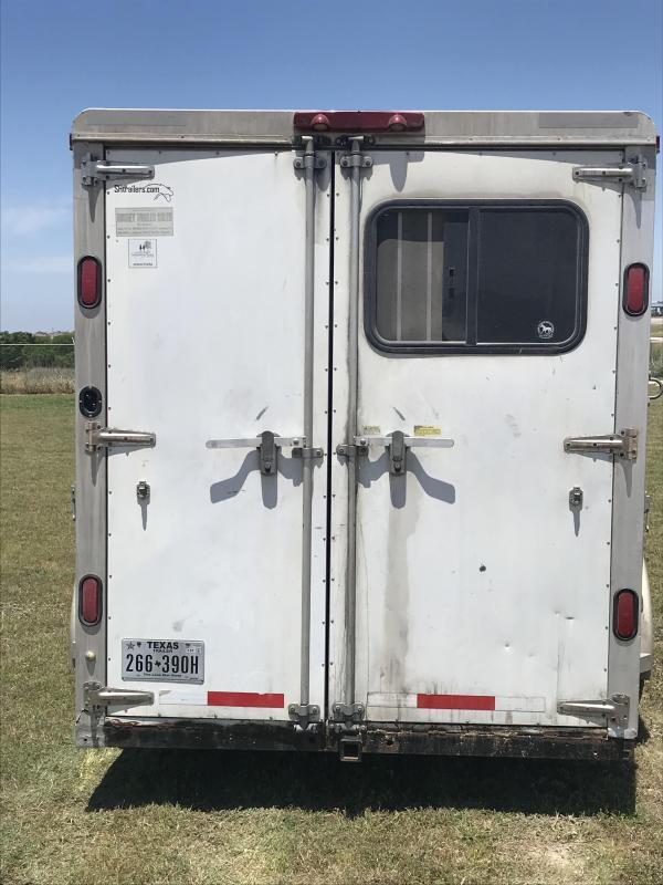 2006 S and H 3 Horse Slant Horse Trailer