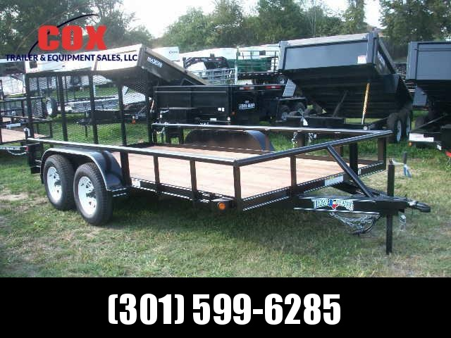 2018 Texas Bragg Trailers 14 LANDSCAPING Utility Trailer