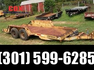2000 SKID LOADER Equipment Trailers in MD