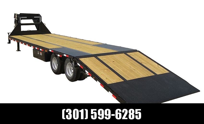 "2018 Load Trail 102"" X 30' Tandem Low-pro Gooseneck Equipment Trailer"