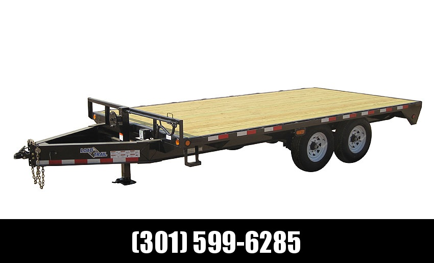 "2019 Load Trail 102"" X 24' Tandem Standard Pintle Hook Equipment Trailer"