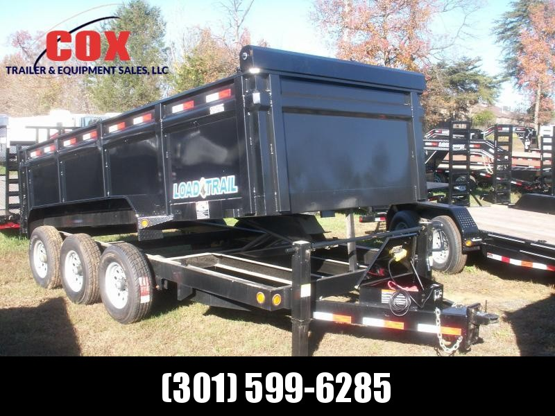 2019 Load Max TRIPLE AXLE EXTREME DUTY Dump Trailer