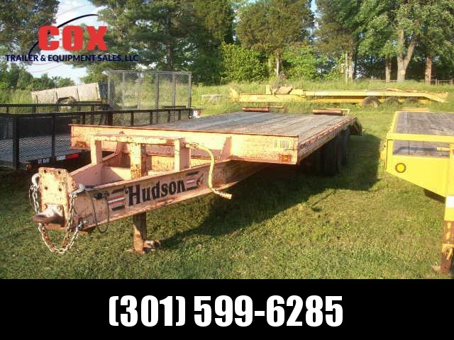 2001 HUDSON PH 9-TON Equipment Trailers in Ashburn, VA