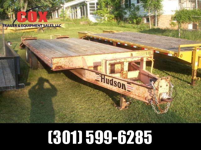 2001 HUDSON PH 9-TON Equipment Trailers