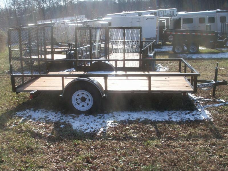 2016 Texas Bragg Trailers LD 29 12 W/GATE Utility Trailer