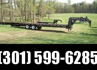 2015 Load Trail GN Flatbed with Dove Tail Equipment Trailers in Ashburn, VA