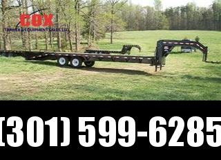 2015 Load Trail GN Flatbed with Dove Tail Equipment Trailers in MD