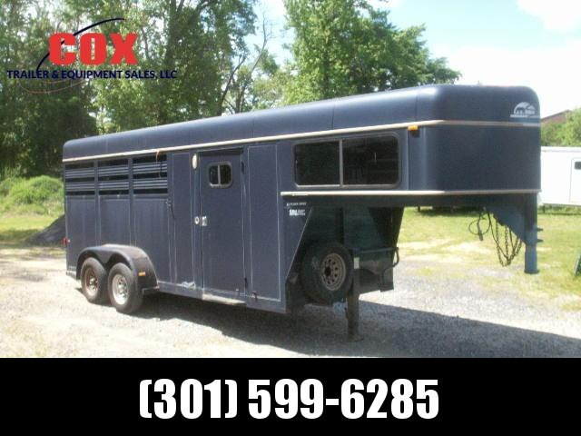 1996 Sundowner Trailers 3-H RANCHER SPECIAL GN Horse Trailer in Ashburn, VA