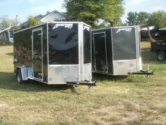 2017 Homesteader 10 PATRIOT SPECIAL V-NOSE REAR RAMP Cargo / Enclosed Trailer