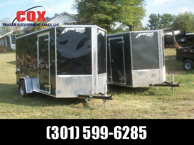 2019 Homesteader 10 PATRIOT SPECIAL V-NOSE REAR RAMP Cargo / Enclosed Trailer in Ashburn, VA