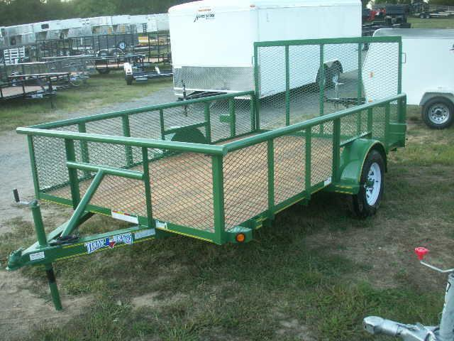 2015 and 2016 models Texas Bragg Trailers 12 LANDSCAPE SPECIAL Utility Trailer