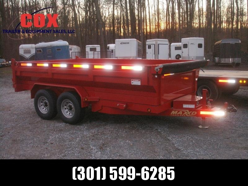 2018 Maxxd Trailers 14 WIDE BODY DUMP TRAILER Dump Trailer in Ashburn, VA