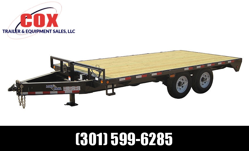 "2019 Load Trail 102"" X 20' Tandem Standard Pintle Hook Equipment Trailer in Ashburn, VA"