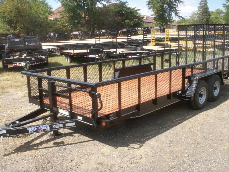 2015 Texas Bragg Trailers 20 BIG PIPE LANDSCAPING TRAILER Utility Trailer