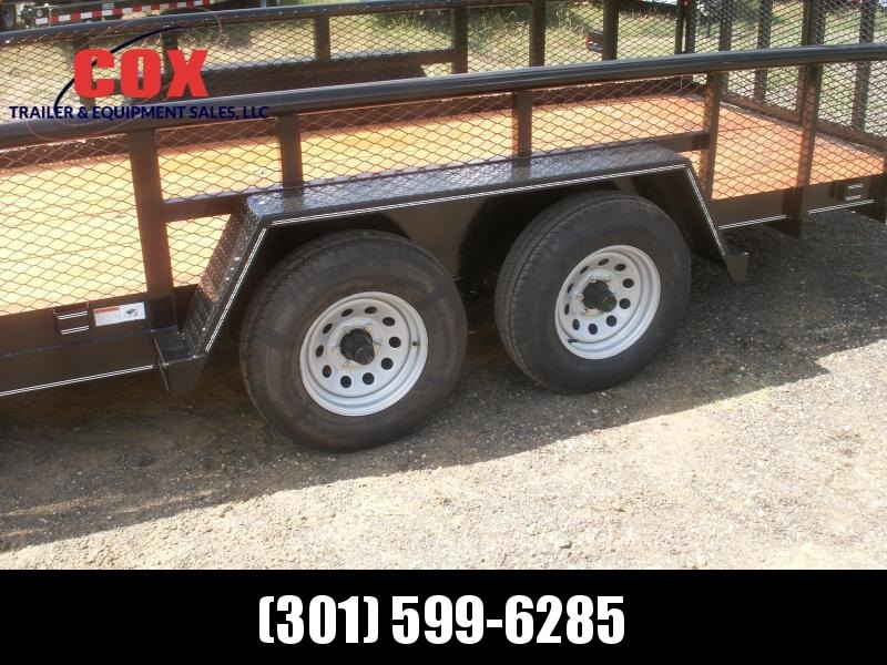 2018 Texas Bragg Trailers 20 BIG PIPE LANDSCAPING TRAILER Utility Trailer