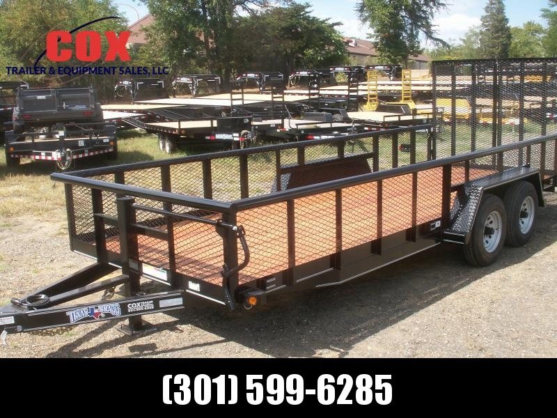 2018 Texas Bragg Trailers 20 BIG PIPE LANDSCAPING TRAILER Utility Trailer in Ashburn, VA