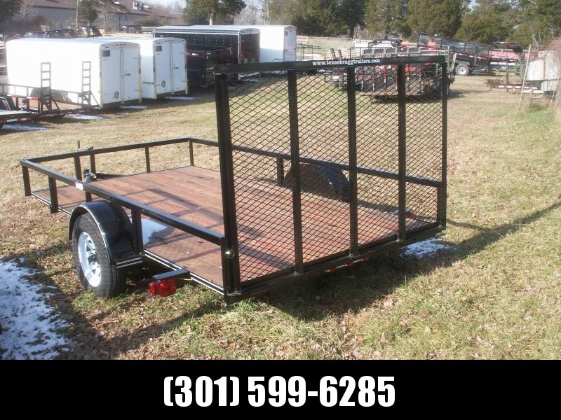 2017 Texas Bragg Trailers LD 29 12 W/GATE Utility Trailer