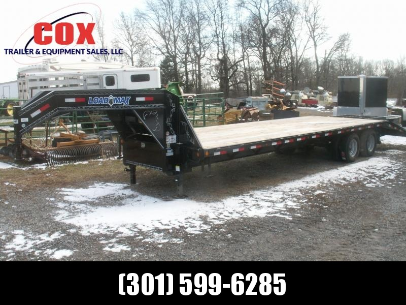 2016 Load Max 28 HD GN WITH DOVE TAIL Equipment Trailer in Ashburn, VA