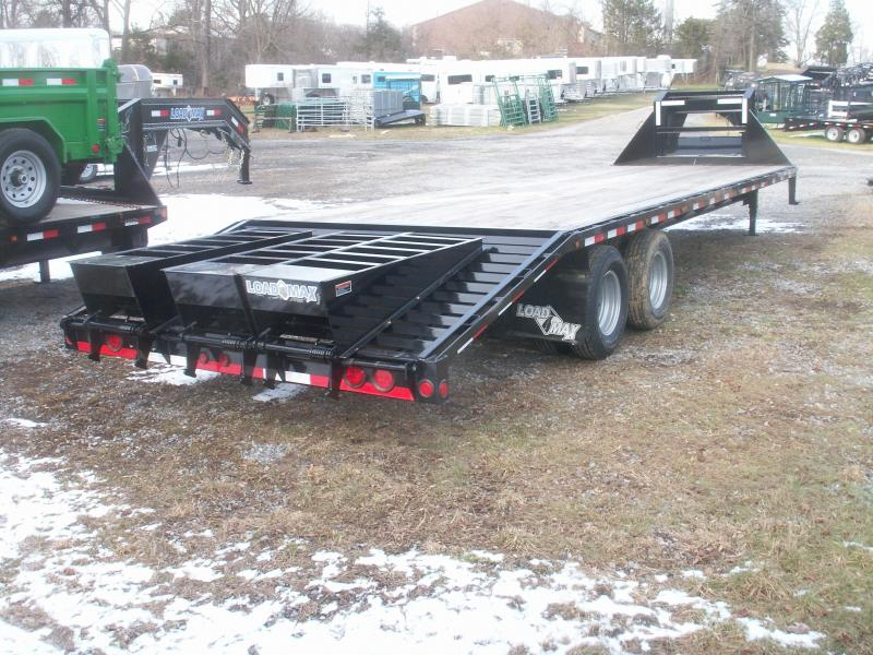 2016 Load Max 28 HD GN WITH DOVE TAIL Equipment Trailer